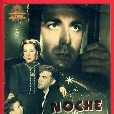 Cinema: GUIA CINE, CIFESA, NOCHE DE REYES ,TIPO REVISTA , ORIGINAL ,G1121. Lote 33434037