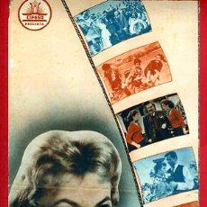 Cinema: GUIA CINE, CIFESA, LA PESCADORA DEL LAGO ,TIPO REVISTA , ORIGINAL ,G1123. Lote 33434085