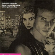 Cine: GLADIATOR, GUIA ORIGINAL SENCILLA DEL ESTRENO DE LA PELICULA. Lote 47019857