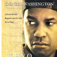 Cine: JOHN Q. GUIA ORIGINAL DOBLE DEL ESTRENO DE LA PELICULA.DENZEL WASHINGTON. Lote 33621986