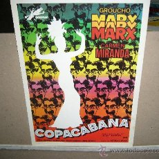 Cine: COPACABANA GROUCHO MARX GUIA ORIGINAL JANO. Lote 34012966