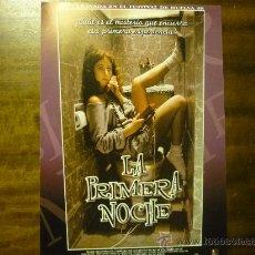 Cine: GUIA PELICULA LA PRIMERA NOCHE. Lote 34159163