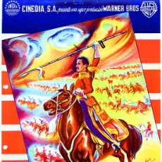 Cine: LA CARGA DE LA BRIGADA LIGERA 1936 (GUIA ORIGINAL) ERROL FLYNN - OLIVIA DE HAVILLAND. Lote 34289953