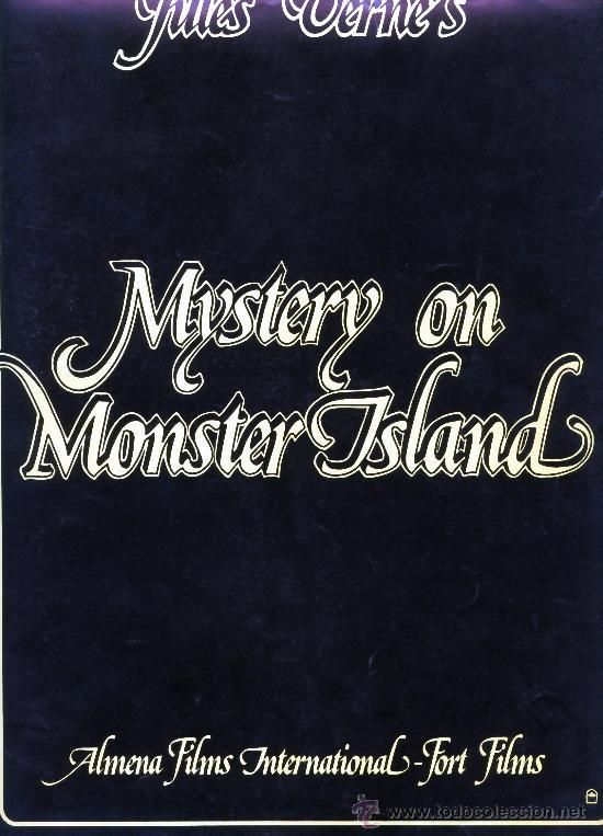 Cine: MISTERIO EN LA LA ISLA DE LOS MONSTRUOS 1981 (GUIA ORIGINAL DE LUJO 8 PAGINAS CON FOTOS) J.PSIMON - Foto 2 - 34291432