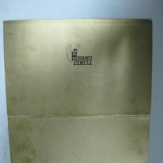 Cine: HISPAMEX FILMS S.A. - LISTA DE MATERIAL - TEMPORADA 1974-1975. Lote 34598886