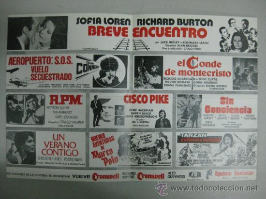 Cine: HISPAMEX FILMS S.A. - LISTA DE MATERIAL - TEMPORADA 1974-1975 - Foto 2 - 34598886