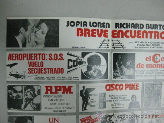 Cine: HISPAMEX FILMS S.A. - LISTA DE MATERIAL - TEMPORADA 1974-1975 - Foto 3 - 34598886