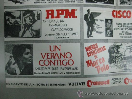 Cine: HISPAMEX FILMS S.A. - LISTA DE MATERIAL - TEMPORADA 1974-1975 - Foto 4 - 34598886