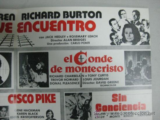 Cine: HISPAMEX FILMS S.A. - LISTA DE MATERIAL - TEMPORADA 1974-1975 - Foto 5 - 34598886