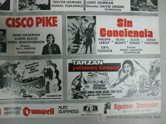 Cine: HISPAMEX FILMS S.A. - LISTA DE MATERIAL - TEMPORADA 1974-1975 - Foto 6 - 34598886
