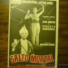 Cine: GUIA DOBLE SALTO MORTAL .- JOSE LUIS OZORES. Lote 34726730