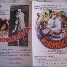 Cine: BORRASCA MARIA LUISA SAN JOSE - GUIA PUBLICITARIA ORIGINAL ESTRENO. Lote 34991628