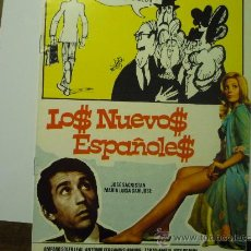 Cine: GUIA PELICULA LOS NUEVOS ESPAÑOLES- AMPARO SOLER LEAL .-J.SACRISTAN. Lote 35045309
