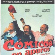 Cine: COMICOS EN APUROS. GUIA ORIGINAL ESTRENO.. Lote 35445277