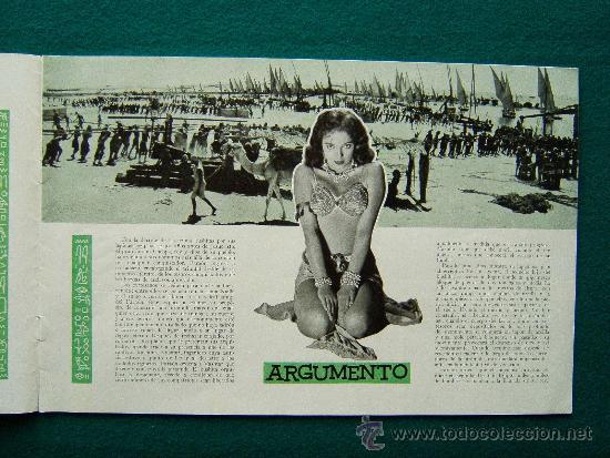 Cine: TIERRA DE FARAONES - HOWARD HAWCKS - JACK HAWKINS - JOAN COLLINS - ILUSTRADO MCP - 1955 - ESTRENO - Foto 3 - 35449521
