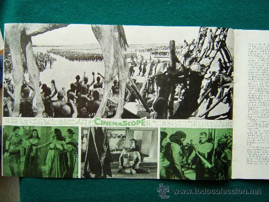 Cine: TIERRA DE FARAONES - HOWARD HAWCKS - JACK HAWKINS - JOAN COLLINS - ILUSTRADO MCP - 1955 - ESTRENO - Foto 4 - 35449521