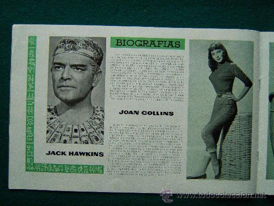 Cine: TIERRA DE FARAONES - HOWARD HAWCKS - JACK HAWKINS - JOAN COLLINS - ILUSTRADO MCP - 1955 - ESTRENO - Foto 6 - 35449521