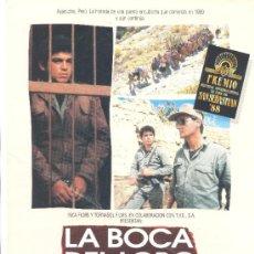 Cine: LA BOCA DEL LOBO. GUIA ORIGINAL ESTRENO. (ALGUNA DOBLEZ). Lote 35614091