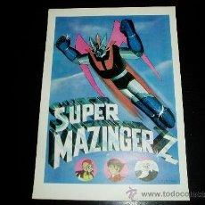 Cine: SUPER MAZINGER Z. GUIA PUBLICITARIA SENCILLA. MAGNIFICO ESTADO.ORIGINAL.NUEVO.. Lote 194618998