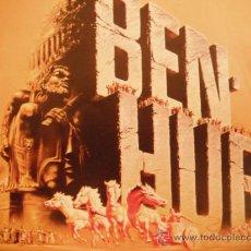 Cine: BEN-HUR. LA CRONICA DE COMO SE REALIZO.1959. LIBRO RANDOM HOUSE, . Lote 35884813