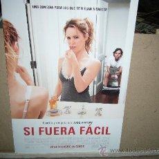 Cine: SI FUERA FACIL GUIA ORIGINAL B2. Lote 36239426