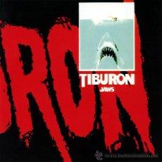 Cine: TIBURON (GUIA ORIGINAL DE LUJO TAMAÑO SINGLE VER FOTOS ) TERROR DE CULTO. Lote 262753835