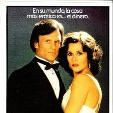 Cine: UNA MUJER DE NEGOCIOS GUIA ORIGINAL SENCILLA DEL ESTRENO DE LA PELICULA JANE FONDA-KRIS KRISTOFFERSO. Lote 36479662