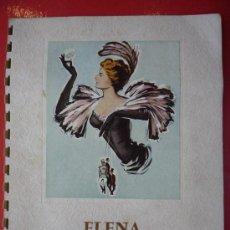 Cine: ELENA Y LOS HOMBRES. GUIA FRANCESA 1956. 12 PAGINAS CON FOTOGRAFIAS, ARGUMENTO Y REPARTO.. Lote 36504600