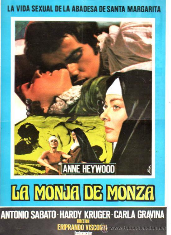 GUIA PUBLICITARIA DE LA PELICULA LA MONJA DE MONZA. (Cine - Guías Publicitarias de Películas )