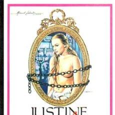 Cine: GUIA PUBLICITARIA DE LA PELICULA JUSTINE DESADE.. Lote 36778546