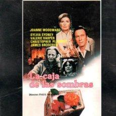 Cine: GUIA PUBLICITARIA DE LA PELICULA LA CAJA DE LAS SOMBRAS.. Lote 36778766