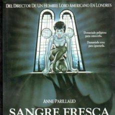 Cine: GUIA PUBLICITARIA DE LA PELICULA SAGRE FRESCA (UNA CHICA INSACIABLE).. Lote 36779029