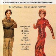 Cine: GUIA DE CINE TOOTSIE. Lote 36795952