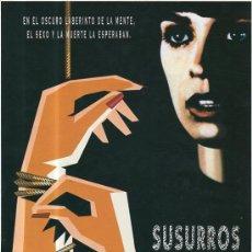 Cine: GUIA DE CINE SUSURROS EN LA OSCURIDAD. Lote 36796087