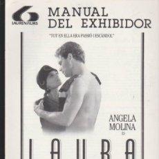 Cine: LAURA. GUÍA (8 PÁGINAS) DE LAUREN FILMS.. Lote 36855776