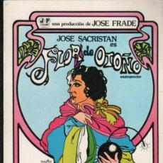 Cine: GUIA PUBLICITARIA DE LA PELICULA FLOR DE OTOÑO.. Lote 36979375