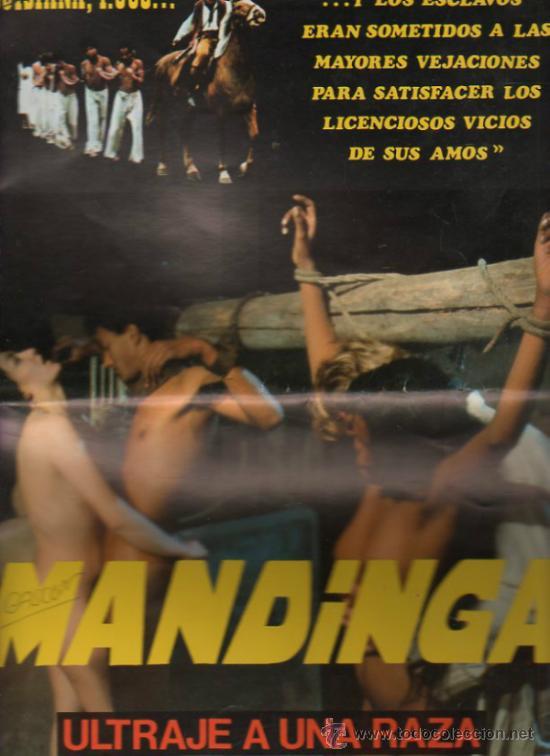 GUIA PUBLICITARIA DE LA PELICULA MANDINGA. (Cine - Guías Publicitarias de Películas )