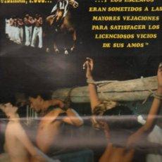 Cine: GUIA PUBLICITARIA DE LA PELICULA MANDINGA.. Lote 36979738