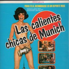 Cine: GUIA PUBLICITARIA DE LA PELICULA LAS CALIENTES CHICAS DE MUNICH.. Lote 36980182