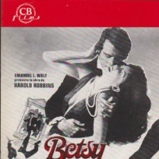 Cine: BETSY. GUÍA DE CB FILMS.. Lote 37002616