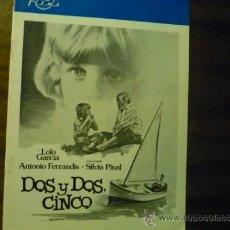 Cine: GUIA DOS Y DOS CINCO .- LOLO GARCIA.- ANTONIO FERRANDIS. Lote 37007723