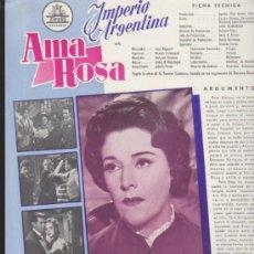 Cinéma: AMA ROSA. GUÍA DE CIFESA.. Lote 37128103