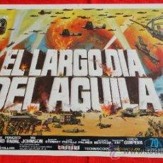 Cine: EL LARGO DIA DEL AGUILA, GUÍA DOBLE1969, FREDERICK STAFFORD FRANCISCO RABAL, EXCELENTE ESTADO. Lote 37399207