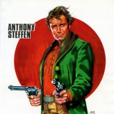 Cine: EL PISTOLERO QUE ODIABA LA MUERTE 1968 (GUIA ORIGINAL LAMINA ) ANTHONY STEFFEN . Lote 37407521