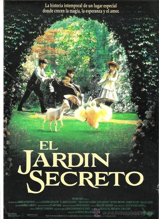 Beautiful secreto en el jardin pelicula photos awesome for Audio libro el jardin secreto