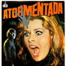 Cine: ATORMENTADA 1974 (GUIA ORIGINAL DE SU ESTRENO EN ESPAÑA CON FOTOS) GIALLO - SENTA BERGER. Lote 179323235