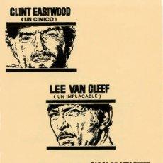 Cine: LA MUERTE TENIA UN PRECIO 1965 ( GUIA LAMINA 2 PÁGINAS DE REGIA FILMS ARTURO GONZALEZ DISEÑO MAC). Lote 262753390