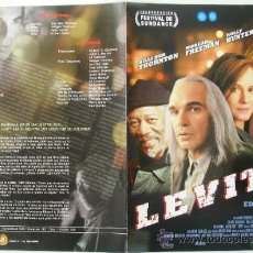 Cine: LEVITY - GUIA ORIGINAL ESTRENO - BILLY BOB THORNTON, MORGAN FREEMAN, HOLLY HUNTER . Lote 37715454