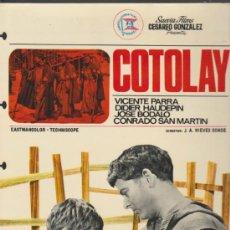 Cine: COTOLAY. GUÍA DE SUEVIA FILMS.. Lote 37790892