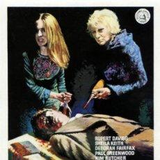 Cine: TERROR SIN HABLA 1974 (GUIA ORIGINAL ESTRENO EN ESPAÑA) TERROR DE CULTO - DISEÑO MAC. Lote 98838334
